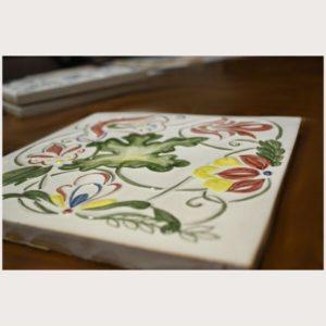 Коллекция изразцовой плитки Дубок