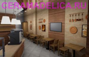 Дизайн кафе быстрого обслуживания