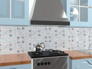 Кухонный фартук Фонарики
