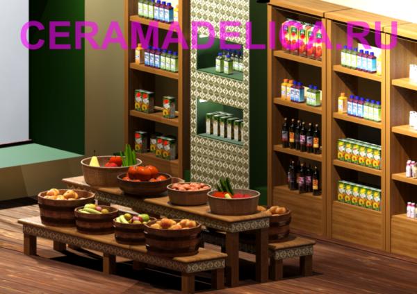 Дизайн магазина экологических продуктов