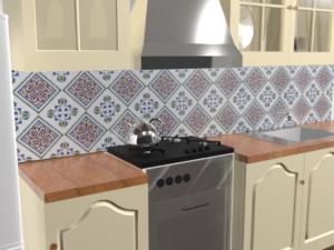 Кухонный фартук Палаццо