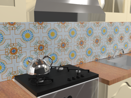 Кухонный фартук Пиано