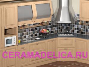 Кухонный фартук Серебряный век