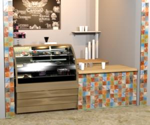 Дизайн мини-кофейни