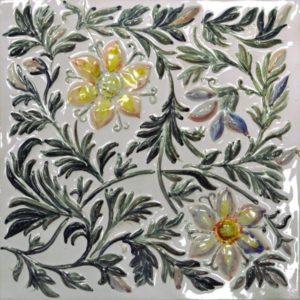 Коллекция изразцовой плитки Летний луг