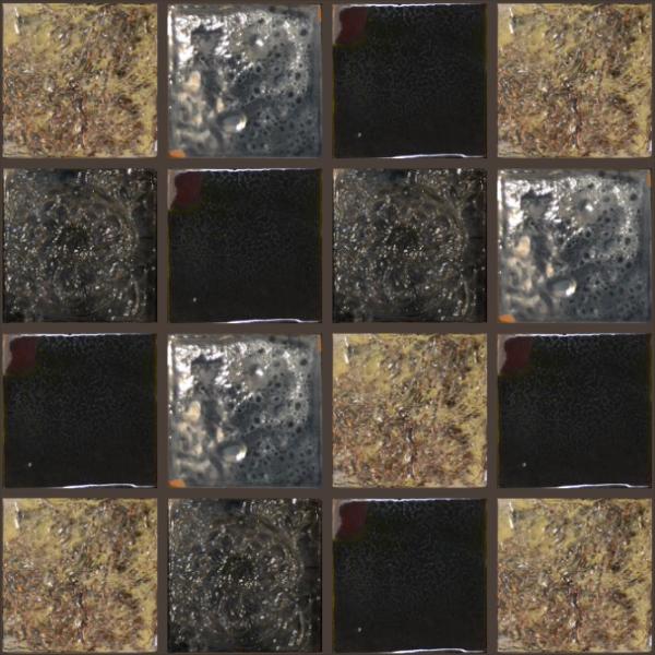 Подборка плитки Золото инков