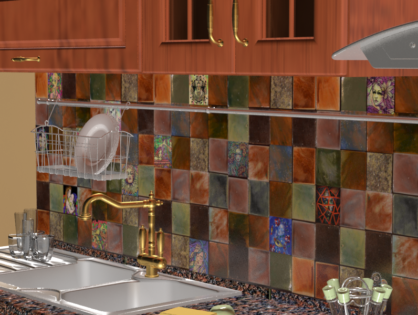 Кухонный фартук Sumumbrum