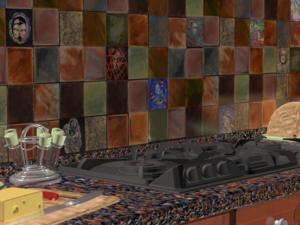 "Кухонный фартук ""Sumumbrum"""