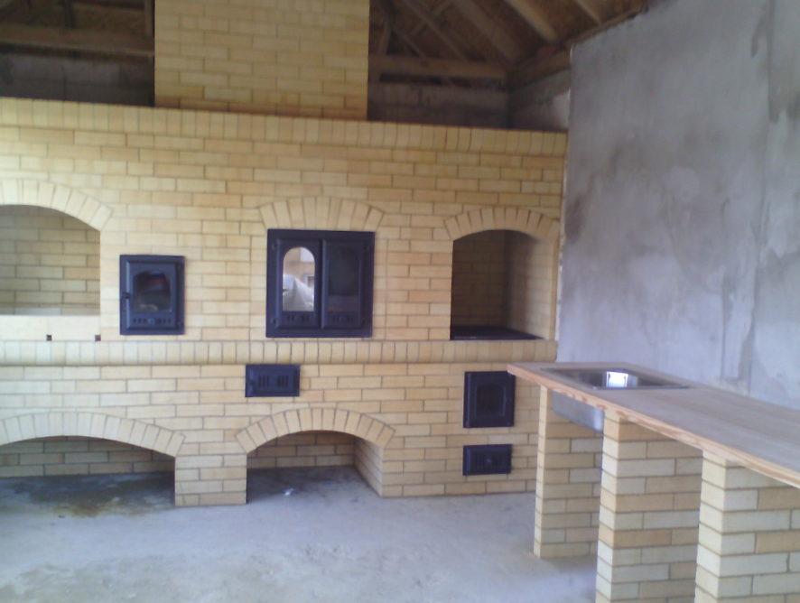 Летняя кухня Атриум
