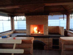 Летняя кухня Марта