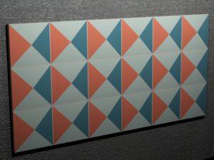Керамическая плитка ручной работы Ромбы