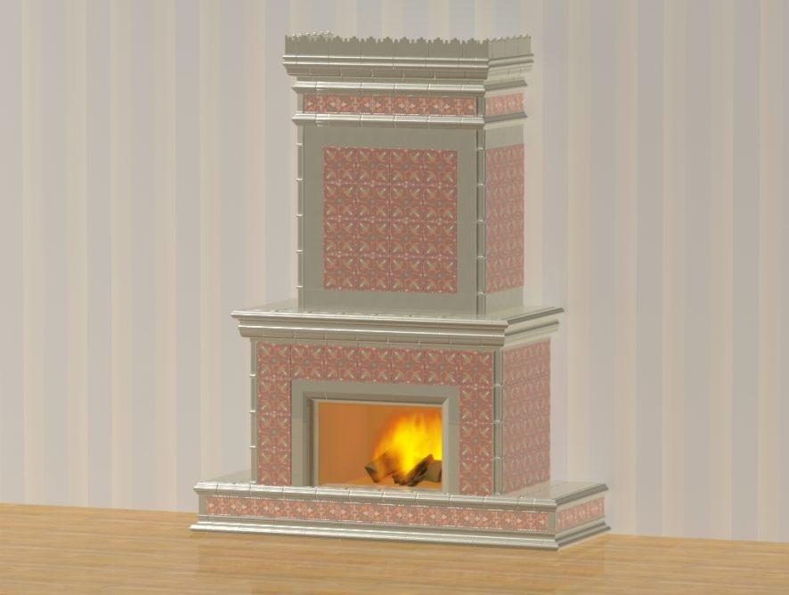 Изразцовый камин «Византия»