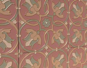 Изразцы ручной работы для камина «Византия»