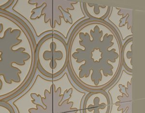 Изразцы ручной работы для камина «Верона»