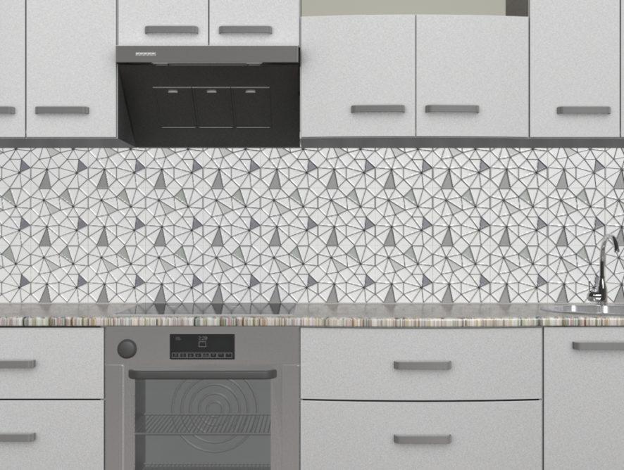 Кухонный фартук Октагон
