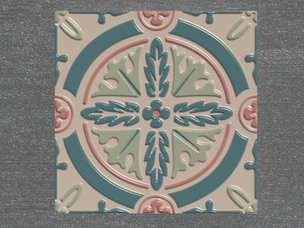 Керамическая плитка ручной работы Рассвет
