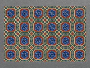 Керамическая плитка ручной работы ЛотосКерамическая плитка ручной работы Лотос