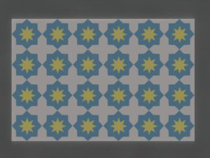 Керамическая плитка ручной работы Арабеска