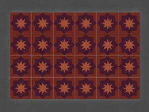 Керамическая плитка ручной работы АрабескаКерамическая плитка ручной работы Арабеска