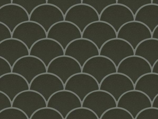 Керамическая плитка ручной работы Чешуя