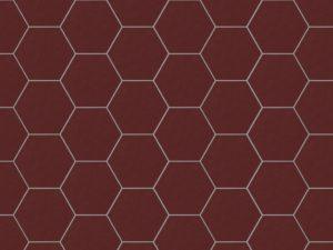Керамическая плитка ручной работы Гексагон